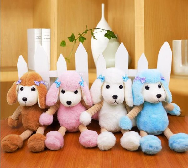 best selling New 30 cm Cute simulation Poodle doll plush toy Stuffed Animals PP Plush dog doll Children's gift