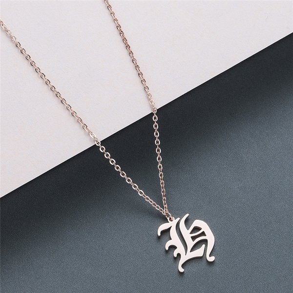 A-Z Letters rose gold
