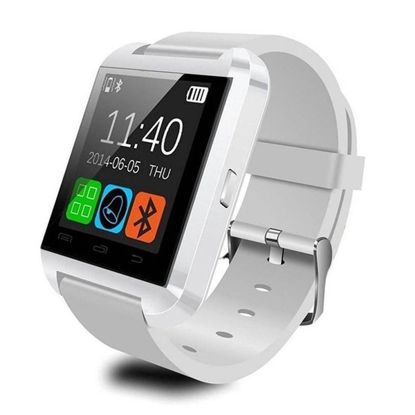 Bluetooth Smart Watch U8 Smart Wear Wireless Bluetooth Touch Screen Smart Watch with Android Card IOS Phone SIM Card Slot