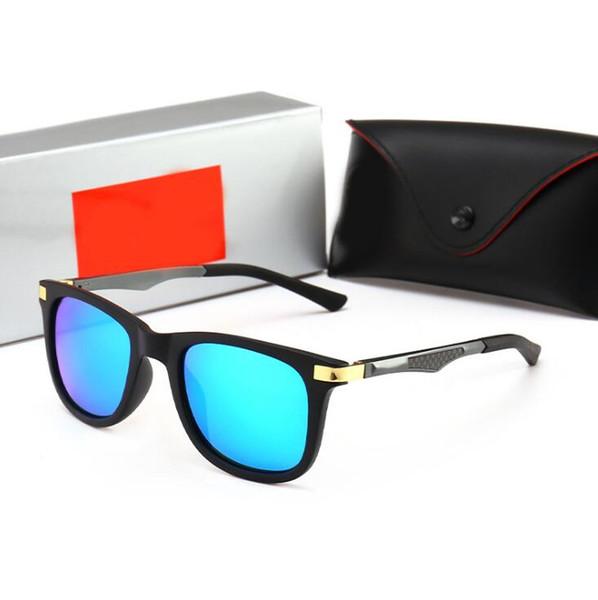 6 Colors Brand Colorful Film Sunglasses Unisex Sports Driving Glasses Fashion UV400 Goggles Outdoor Eyewear CCA11199 5pcs