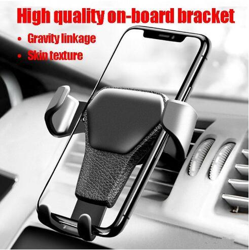 Universal Gravity Autotelefonhalter Air Vent Mount Ständer für iPhone X XS MAX XR Kein Magnet mit Kleinpaket