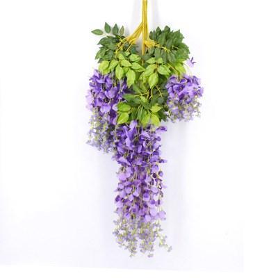 110 cm de color púrpura