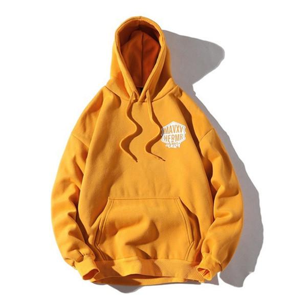 Mode Nouveau Hommes Automne capuche Homme Coton Sweat-shirts à capuche pour hommes d'impression Pull Hoodies 4 couleurs