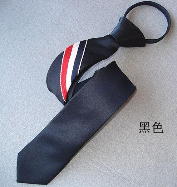 Venta al por mayor precio bajo de alta calidad 5pcs / lots Poliéster hombres corbatas (47x5cm) (7.3) hghf
