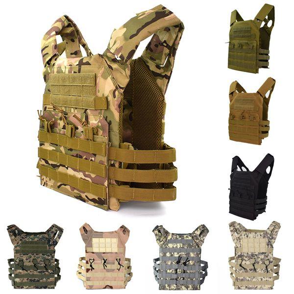 Armatura del corpo dell'esercito degli uomini del cammuffamento della maglia di combattimento tattica di sport della maglia del gilet tattico di JPC
