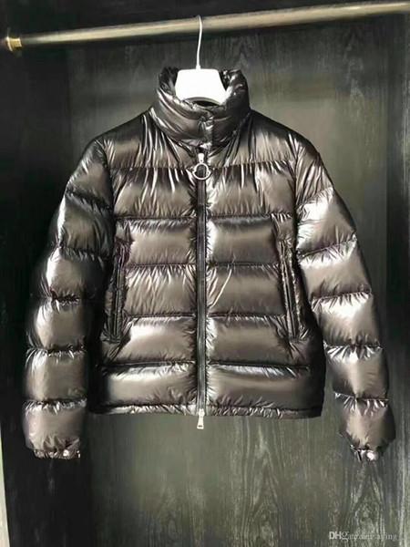 2019 новый легкий пуховик женщин короткий раздел воротник тонкий тонкий раздел тонкий теплый пальто розовый красный черный A01 0-3