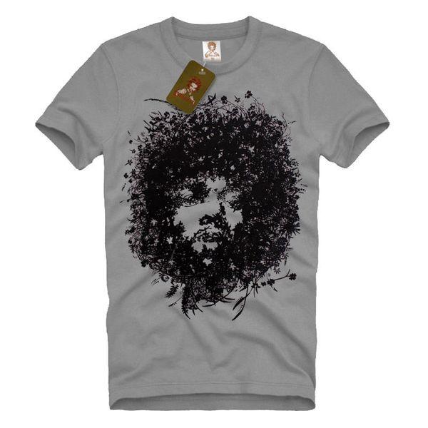 Jimi Hendrix Bush Graphic Art legend Men's T-SHIRT music guitar soul tee S-XL Classic Quality High T-shirt Hoodie Hip Hop T-shirt