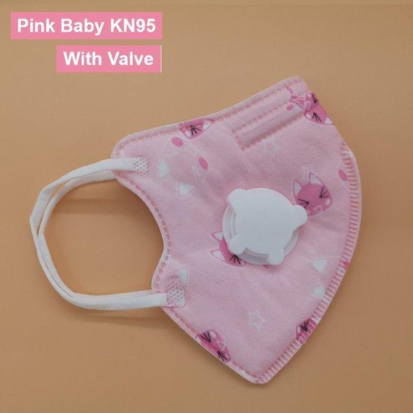 Rosa Baby-Maske