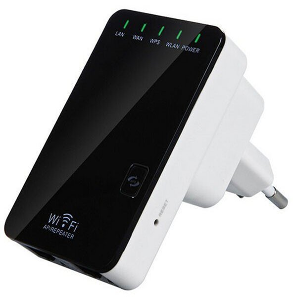 Repeater Wifi Wireless Router Extender AP Booster Amplifier LAN Client Bridge IEEE802.11b / g / n EU Plug Wi fi Roteador