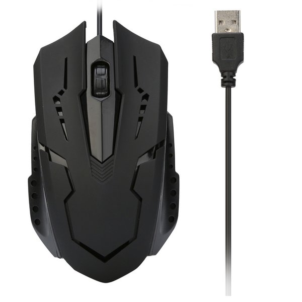 Für PC Laptop 1200 DPI USB verdrahtete optische Gaming Mäuse Mäuse OC10 Drop shipping YE3.11