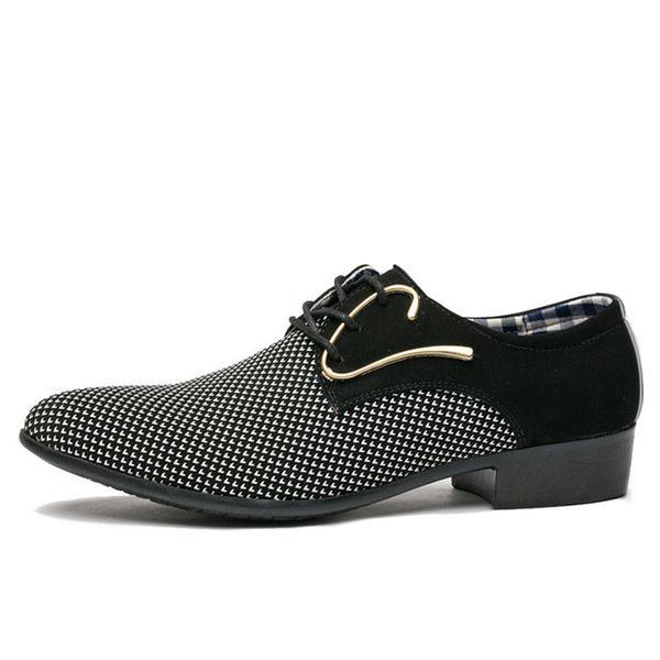 Men's Dress Suit Shoes Italian Style Wedding Casual Shoes Pointed Toe Business Men Shoes
