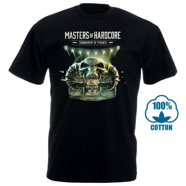Männer T-Shirt Mode Meister der Hardcore Graphic Tee Coole Tops O Neck Für T-Shirt Neuheit T-Shirt Frauen