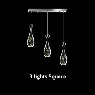 3 أضواء مربع