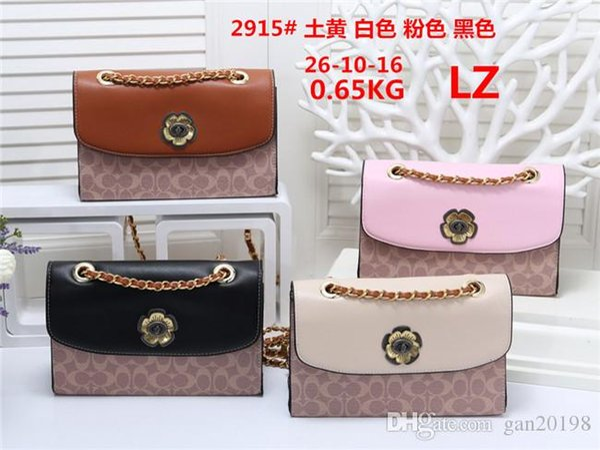 2019 styles Handbag Famous Name Fashion Leather Handbags Women Tote Shoulder Bags Lady Leather Handbags Bags purse #2295