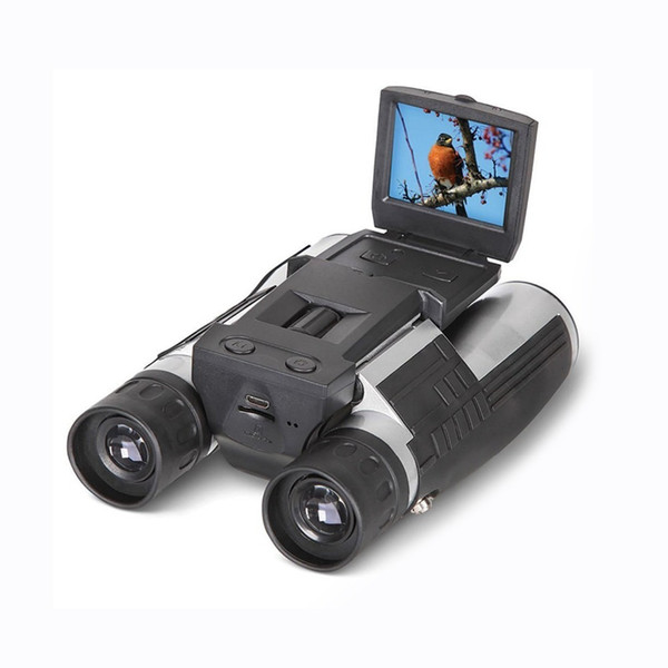 """Winait FS608R 2"""" FHD Digital Camera Binoculars 12x32 Video Recorder Camcorder LCD Telescope For Watching,Hunting and Spying"""