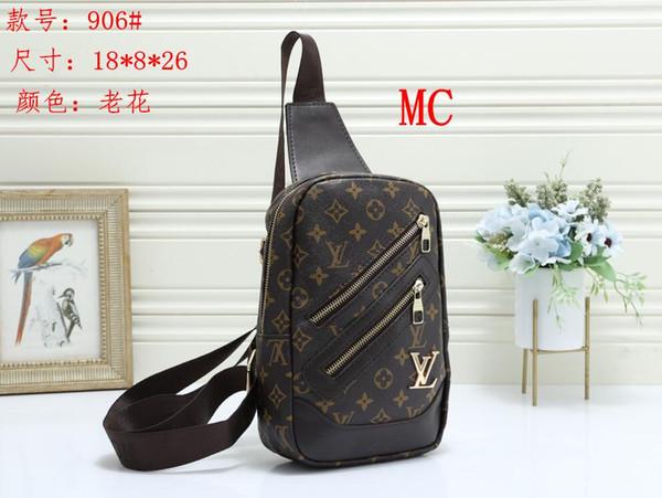 Модные мужские и женские сумки через плечо Классическая старая цветочная и клетчатая сумка для покупок Модная сумка через плечо с дизайном через плечо 0824-15