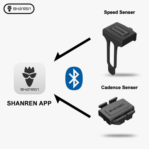 ciclocomputer senza fili velocità cadenza sensore misuratore di potenza strada mtb bici compatibile BLE Bluetooth cycling computer Accessori # 24172