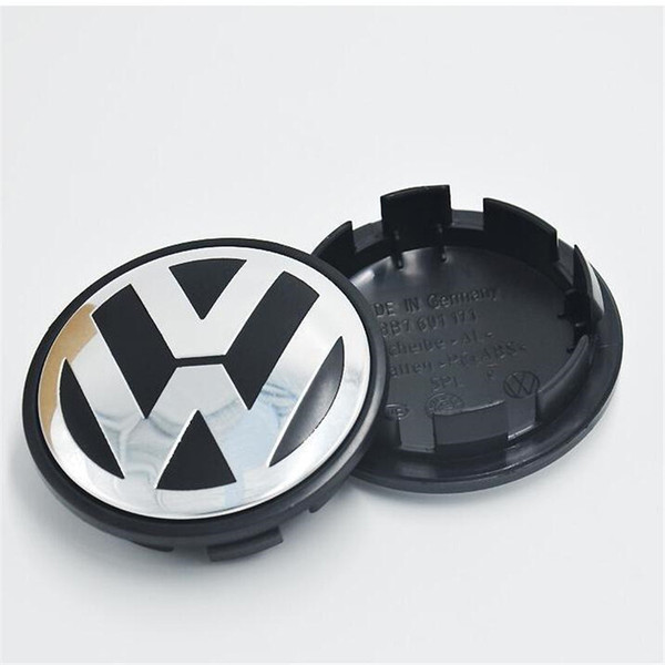 best selling 65mm VW Wheel Centre Caps Badge Sticker For Car VW New Wholesale