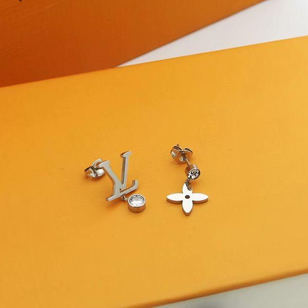 Weißgold / Ohrringe