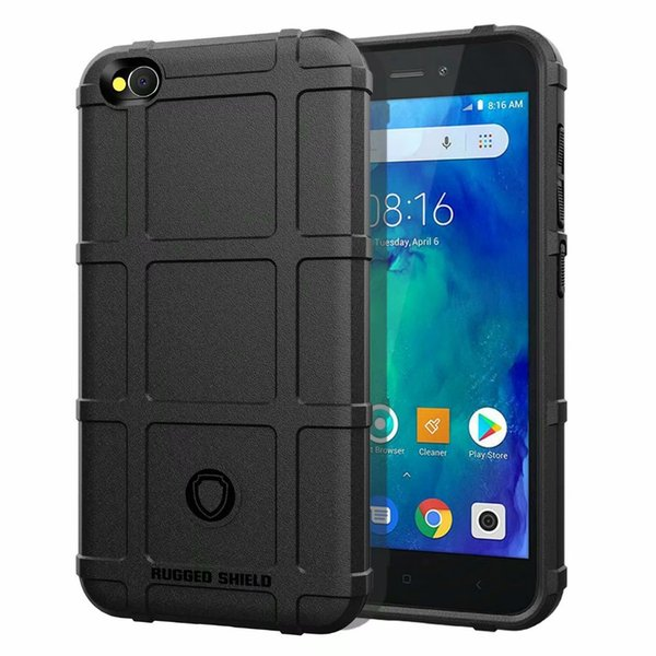 Non-Slip Air Cushion Soft Silicone Rubber Case Cover For Xiaomi Redmi Go Mi 6X A2 Lite Mix 2S Play Pocophone F1 Armor Rugged