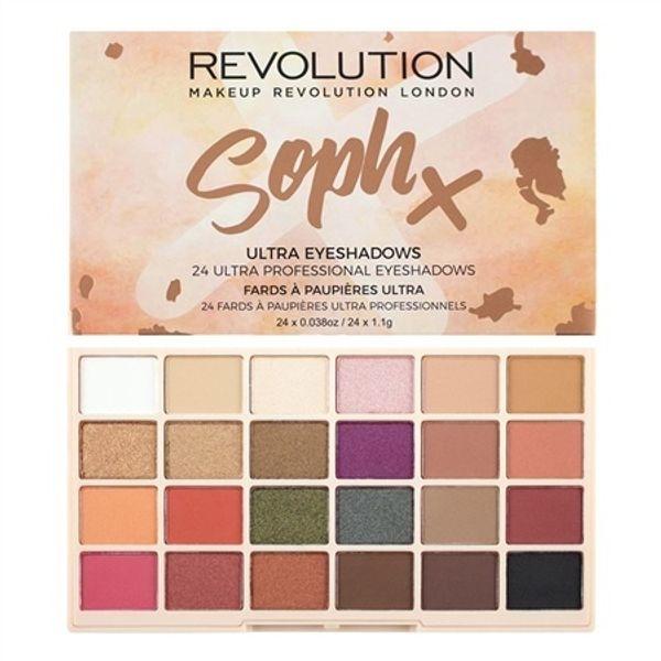 KAILIER New Revolution Brand 24 Colour Eyeshadow Palette Makeup Revolution Soph Eye Shadow Palette London Eye Makeup