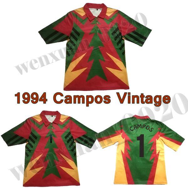 76beb87bdaf 1994 Jorge Campos Jersey Seleccion Mexicana Mundial 94 Mexico goalkeeper  Campos soccer jersey retro classic vintage football shirts