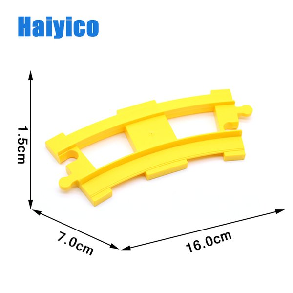 Pista curva amarilla