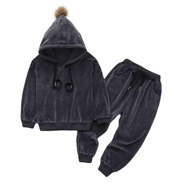 KEAIYOUHUO Детская одежда 2018 весна осень Девочки Одежда Hoodies + Pants 2pcs Детские мальчиков Спортивный костюм для девочек Одежда Набор