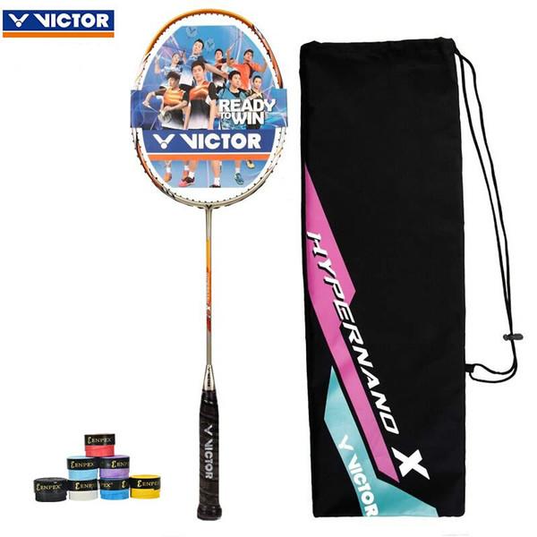 Original Victor HX7 SP Nano tube Badminton Racket 6.8 shaft Badminton racchetta NEW NANO Technology Raquete