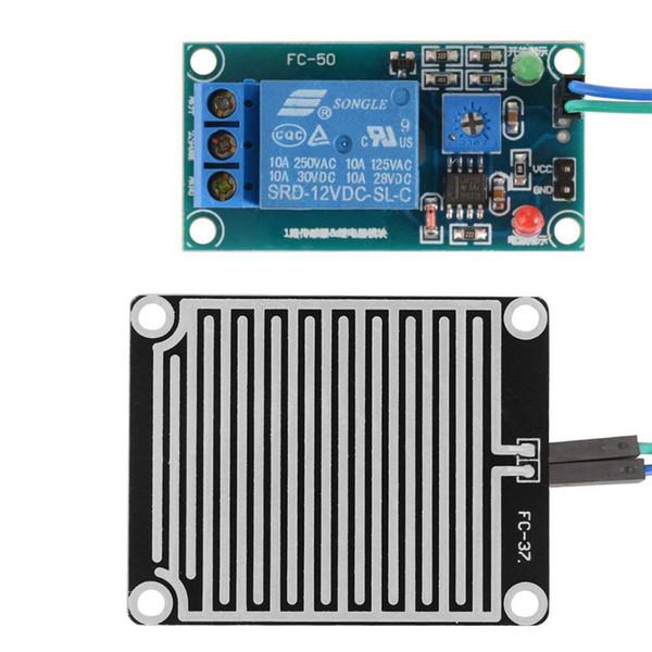 12V Regentropfen-Steuermodul Regentropfen-Sensormodul mit Relais