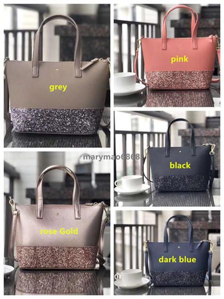 Hot glitter shining pu patchwork brand designer women shoulder shopping crossbody bags pu leather Cross pattern purse us luxury bag factory