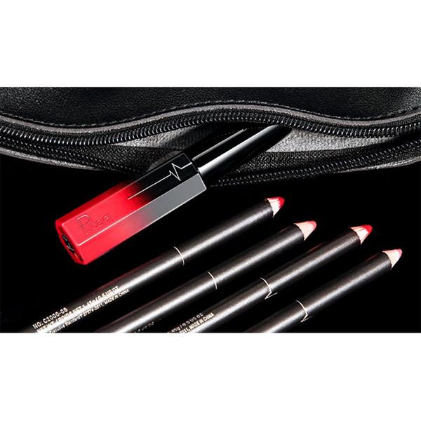 PUDAIER Brand Makeup New Waterproof Long Lasting Matte Lip Liner&Lip Gloss Liquid Lipstick Beauty Sets Women Gift Lipsticks