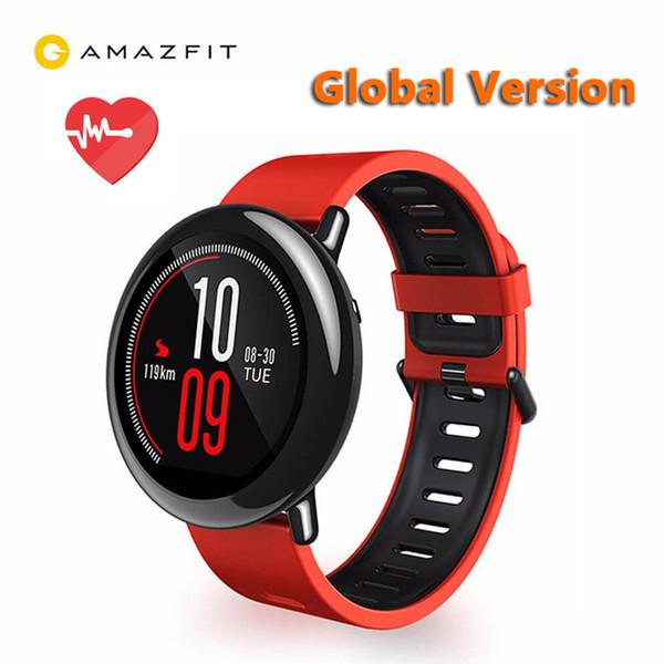 Original Xiaomi Huami Watch AMAZFIT Pace GPS Running Bluetooth 4.0 Sports Smart Watch Heart Rate Monitor CE Touch Screen Global