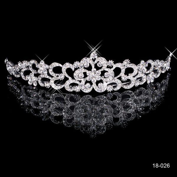 top popular 2020 Extra Cost for Buyers - Hair Tiaras Diamond Rhinestone Wedding Crown Bridal Jewelry Headpieces - No Refund No Return No Exchange 2020