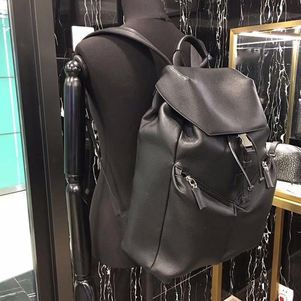 Designer-sacs à dos des hommes de qualité supérieure véritable sac à dos en cuir de haute qualité PADA sac à dos de l'homme sac à dos