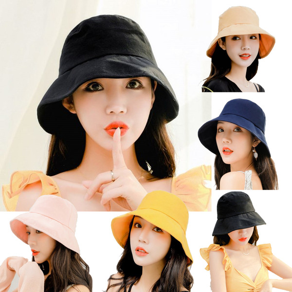 Men Fisherman Hat Sunshade Fashion Cap Summer UV Protection Foldable Fishing TE