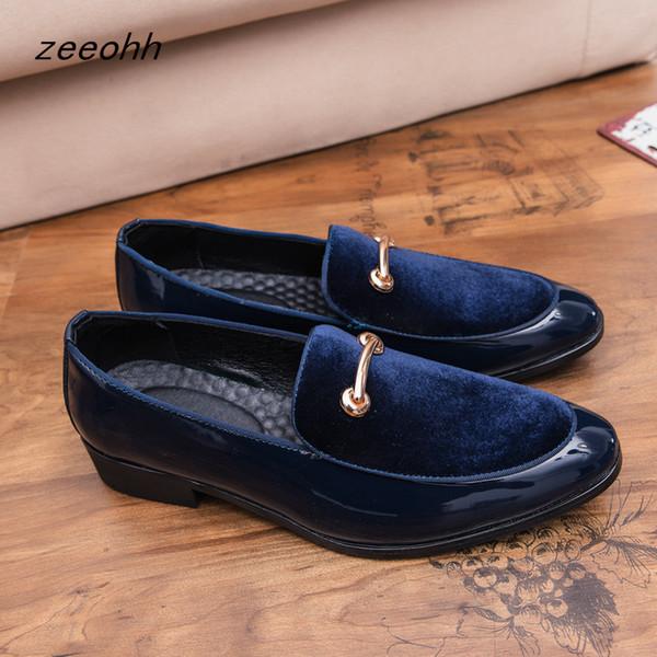New men's dress shoes luxury fashion groom wedding shoes men's luxury Italian style Oxford shoes high quality men's