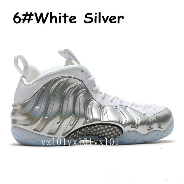 #6 White Silver