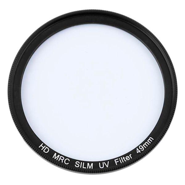 top popular Freeshipping 49 52 55 58 62 67 72 77MM Professional UV Lens Filter Camera Ultra-Violet UV Filter Lens For Canon For Nikon Cameras 2021