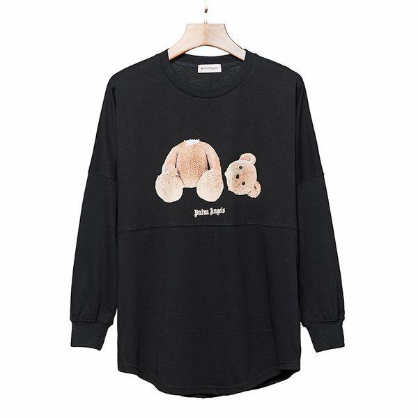 top popular Palm Angels Hoodie Hip Hop Palm Angels Bear Printed Designer Hoodie Sweatshirt Men Women High Quality Mens Designer Hoodies Size S-XL 2019