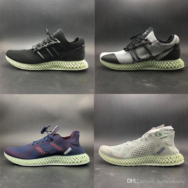Without Box Brand New AlphaEdge 4D Runner Futurecraft LTD Print Technology Running Shoes Designer Sport Sneaker Grey Black White Red Top