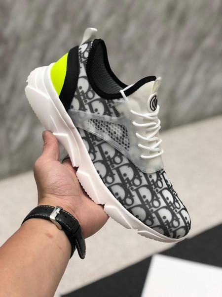 Dior Atelier men and women shoes sneakers 26 boyutu: 38-44 moda lüks scarpe tasarımcı erkek kadın sandalet ayakkabı sneakers femmes espadrilles loafer'lar