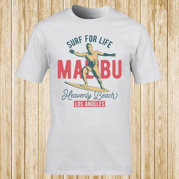 Мужская футболка цитата Малибу реальная ложь-хип-хоп TS646