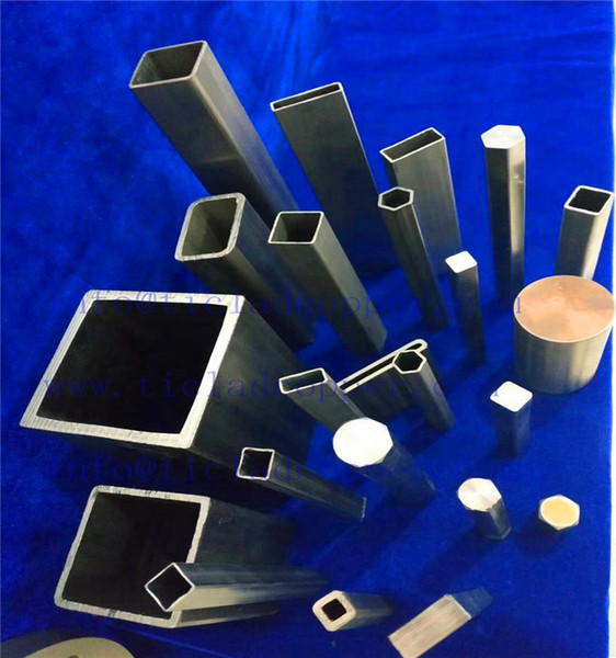 best selling supply titanium square tube China factory gr2 gr5 welding titanium square tube in stocks from Baoji HOT SALE