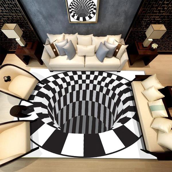 3D Printing Outdoors Carpet Picnic Mat Living Room Carpet Bathroom Carpet