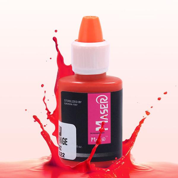 Güzellik Sağlık 1 ADET Dövme Mürekkep Pigmentleri Kalıcı Makyaj Makinesi için Set Pigmento Mikroblading Pigment Kaş Dudak Eyeliner Makyaj 25 Renk