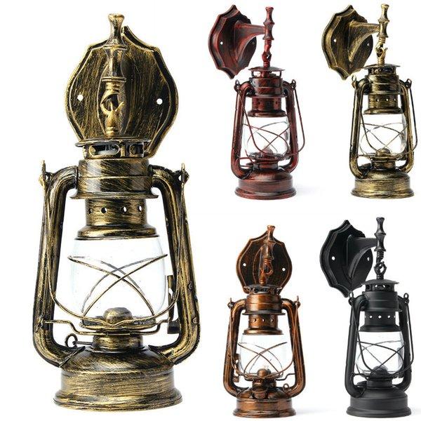 1шт Бра настенное Старинные настенные светильники E27 Светодиодные лампы Loft ретро светильник Лампы Крепеж Antique Glass Industrial Light