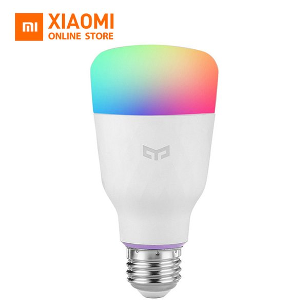 Original Xiaomi Yeelight Smart LED Bulb (Color) E27 10W 800 Lumens Mi Light Xiaomi Mijia Smart Phone WiFi Remote Control
