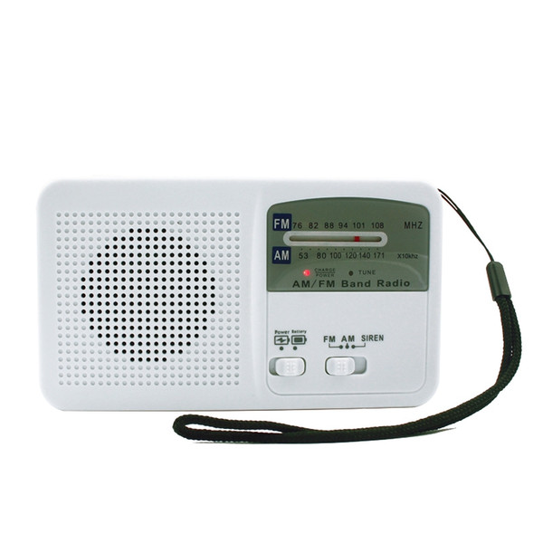 La radio de dynamo de manivelle a mené le chargement portatif de radio extérieure de chargeur de téléphone portable d'Usb de chargeur de canal d'am / Fm