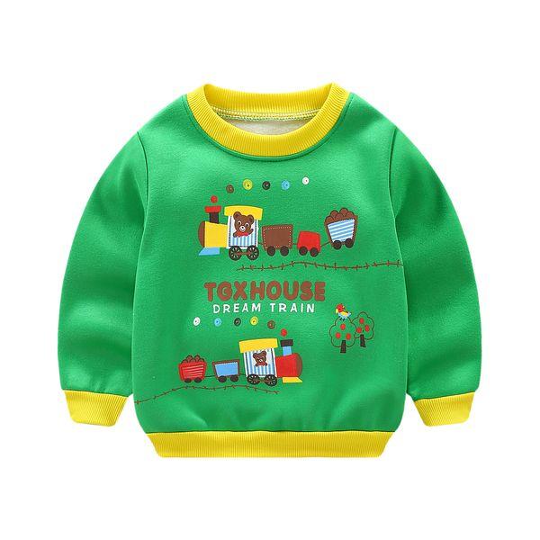 New Infantil Baby Boys Roupas Hoodies Lion Print Sweatshirt Children's Pullover Outerwear Autumn Spring Fashion Tops T-shirt